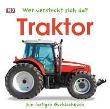 Wer versteckt sich da? Traktor von Sandra Grimm (2014, Pappbilderbuch)