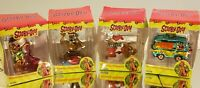Trevco Scooby Doo Mystery Machine Blown Glass Christmas Ornaments Lot of 4
