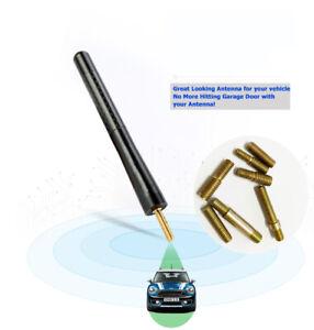 Aluminum Short Screw-On Mast Car Antenna Areial For Renault Trafic & Master Vans