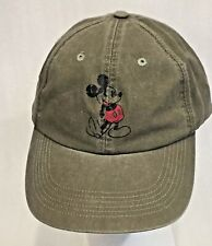 Adult Size Mickey Mouse Baseball Cap Tab Back Osfm New W Tags