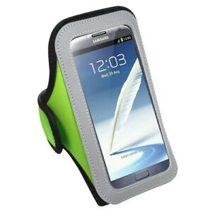 Premium Neon Green Sport Armband Case Pouch For Apple iPhone 11 Pro Max 6.5