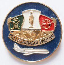 Insigne Religieux ITALIE PELERINAGE LOURDES PELLEGRINAGGI CATHOLIC BADGE 2