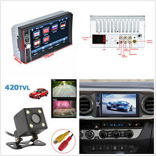 7'' 2-Din HD Touch Screen Bluetooth V3.0 Phone Link Car Radio MP5 Player &Camera