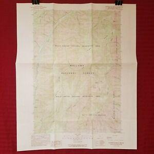 USGS Topo Map PUDERBAUGH RIDGE, OREGON Quadrangle 1:24,000 Provisional Ed. 1990