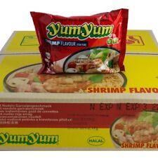 TOP : 1 carton Yumyum Shrimps Instant soupes 30 X60g TOM YUM crevettes soupe