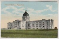 Canada postcard - Parliament Buildings, Regina, Sask