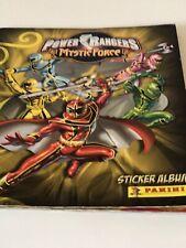 PANINI POWER RANGERS  COMPLETE STICKER SET & ALBUM