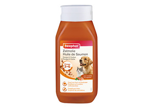 Beaphar Salmon Oil for Dog and Cats For Healthy Skin Condition 430ml Natural