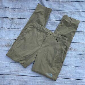 the north face boys m 10-12 khaki pants