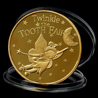 Tooth Fairy Commemorative Coin Collection Gift Souvenir For Chlidren Gift BLUS