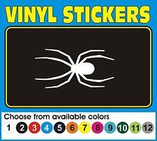 """6"""" SPIDER Spiderman Black widow Window car truck vinyl decal sticker"""