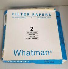 Whatman 2 (1002-185) Qualitative Filter Paper - 185mm
