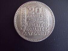 PIECE DE 20 FRANCS EN ARGENT DE 1933