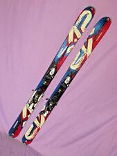 K2 COOMBACK skis 167cm w/ All Terrain Rocker w/ Salomon Z10 DEMO ski bindings ~~