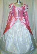 Little Mermaid Ariel Pink Ball Gown Dress Costume, Adult - Your Custom Size