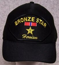 Embroidered Baseball Cap Military Medal Bronze Star NEW 1 hat size fits all