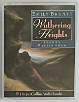 Wuthering Heights (Audio cassette, 1992) Book By Emily Bronte Reader Martin Shaw