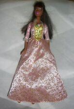 Mattel 1999 Barbie African Am Black Hair Aneliese Pauper Dress SN# 1186,MJ,1,NL