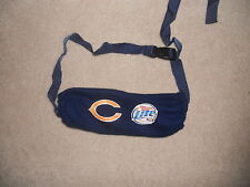 CHICAGO BEARS NFL FOOTBALL HAND WARMER POUCH SGA MILLER LITE AWESOME FOR COSTUME