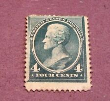 US Stamp Scott# 211 Jackson 1883  MH  C249