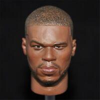 "Headplay 1/6 Scale Black rapper 50cent Head Sculpt F 12"" Action Figure Body Toys"