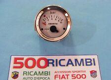 FIAT 500 F/L/R 126 PRESSIONE OLIO LOGO ABARTH STRUMENTO SPORTIVO CRUSCOTTO DA 52