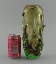 Art Glassware Green Hand Blown Glass