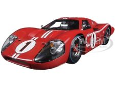 1967 FORD GT MK IV #1 RED LE MANS WINNER 1/18 DIECAST SHELBY COLLECTIBLES SC423