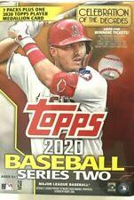 2020 TOPPS SERIES 2 BASEBALL BLASTER BOX ( MEDALLION CARD )   LIVE READY TO SHIP