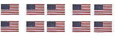 10 Pack - 3' x 5' ft. USA US U.S. American Flag Stars Grommets United States