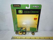 John Deere X485 Lawn Mower With Cart By Ertl 1/32nd Scale