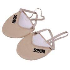 Sasaki RG Rhythmic Gymnastics Half Demi Shoes Socks Beige Size:S Japan new .