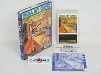 Sega My Card BANK PANIC Ref/043 SC-3000 SG-1000 Japan Game m3
