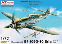 MESSERSCHMITT Bf-109 G-10 ERLA (LUFTWAFFE MKGS) #7615 1/72 AZ MODEL