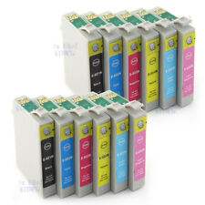 12x Ink Cartridges T0821 81N 82N for Epson 1430 Artisan 725 730 835 837 NonOEM