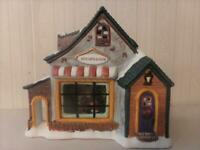 Vintage Ceramic Lighted Christmas Village House Jen's Gifts And Such ~ Long Rich