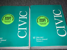 2007 07 HONDA CIVIC Shop Repair Service Manual SET FACTORY OEM BOOKS BRAND NEW