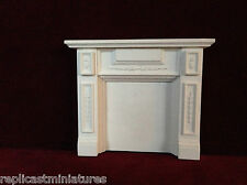MN03 con inserti Fire Surround GESSO-replicast MINIATURES-dolls house