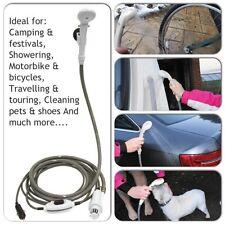 Streetwize Pump Camping Pet Car Festival Professional 12v Travel Portable Shower