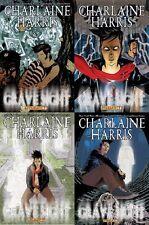 1st print comic set (4) CHARLAINE HARRIS GRAVE SIGHT #1 A & B 2 3 true blood NM