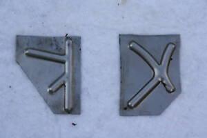 VESPA Reparaturblech K X Verstärkung V 50 N S L Special ET3 Primavera Beinschild