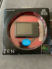 Creative ZEN 4 GB MP3 Player With FM Radio Voice Recorder (New 16GB SDHC Card)