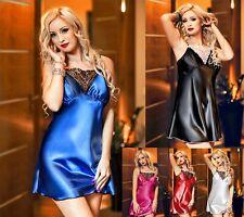 Sexy Satin Chemise Slip Ladies Nightwear 028 Plus Size Lingerie 8 - 24 lingerie