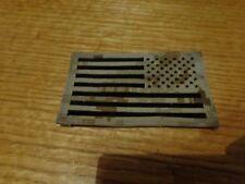 IR NWU Type II Reverse US Flag  DESERT / TAN  Patch (HOOK)   AOR1     NEW