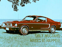 1968 Ford Mustang Makes It Happen Promo Film CD MP4 Format