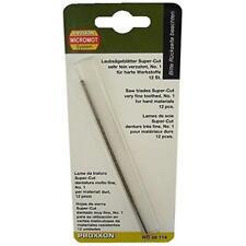 Proxxon 28114 Super-cut scroll saw blades for mild steel,(no. 1, 50 TPI) 12 each