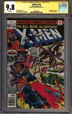 * X-MEN #110 (1978) CGC 9.8 Signed Claremont Wolverine (1580651003) *