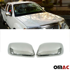 Fits Nissan Xterra 2007-2015 Stainless Steel Chrome Side Mirror Cover Cap 2 Pcs