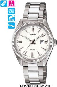 CASIO WATCH LTP-1302D-7A1V LTP1302 50 METRES 12-MONTH WARNTY