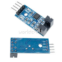 Slot Type Optocoupler Module 3.3V-5V LM393 Comparator Slot-Type For Arduino MF